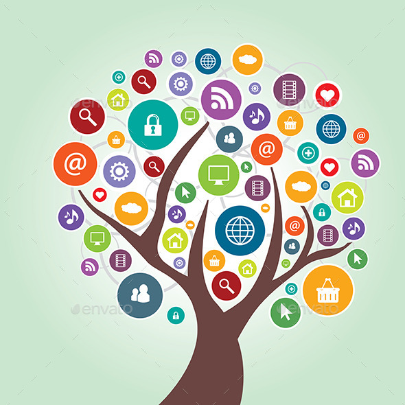 Tree and Communication in Social Media - Web Technology