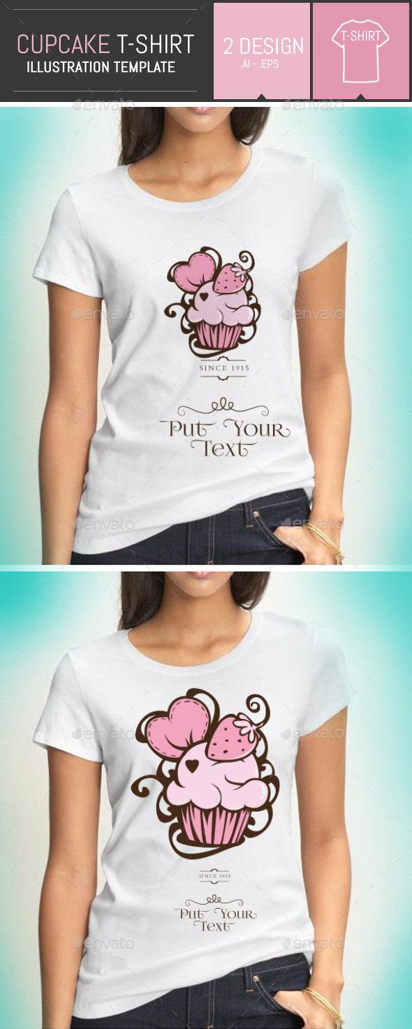 Cupcake / Cake T-shirt - Designs T-Shirts