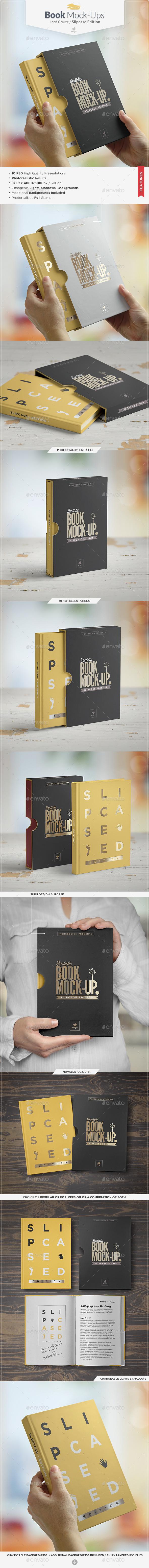 Book Mock-up / Slipcase Edition - Books Print