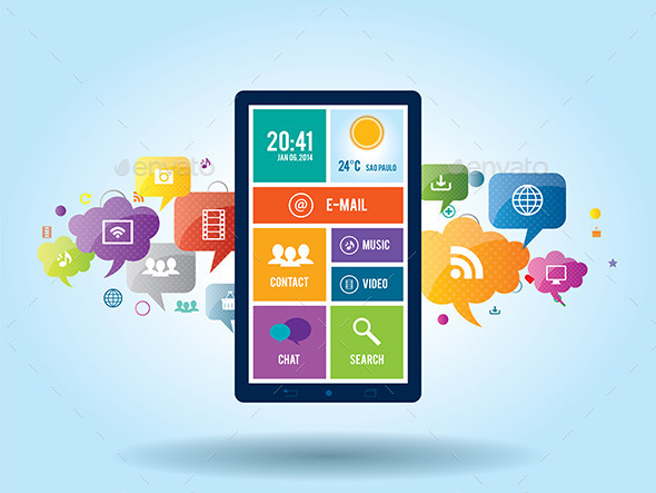 Mobile Communication by the Smart Phone - Communications Technology