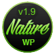 Nature - Responsive Onepage WordPress Theme Nulled