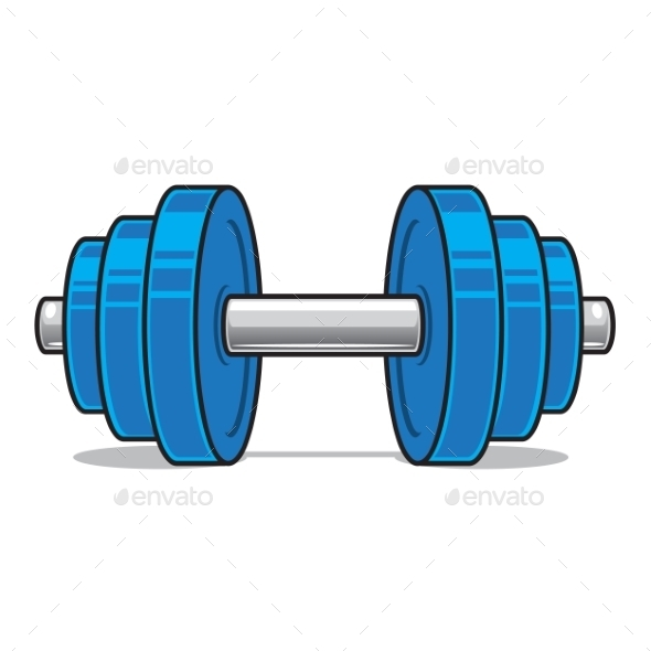 Fitness workout Dumbbell  - Backgrounds Decorative
