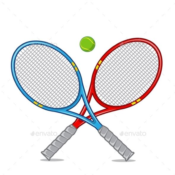 Tennis Racket - Backgrounds Decorative