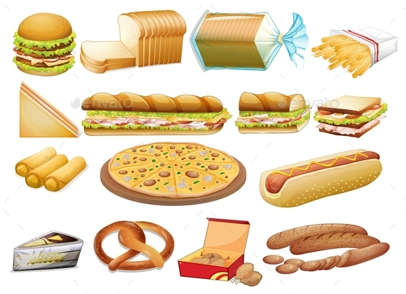Food - Food Objects