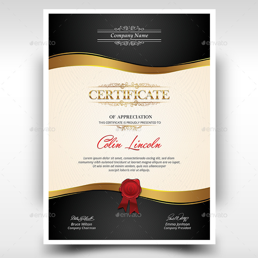 Certificate by themedevisers graphicriver screenshortsscreenshot 01g yadclub Image collections