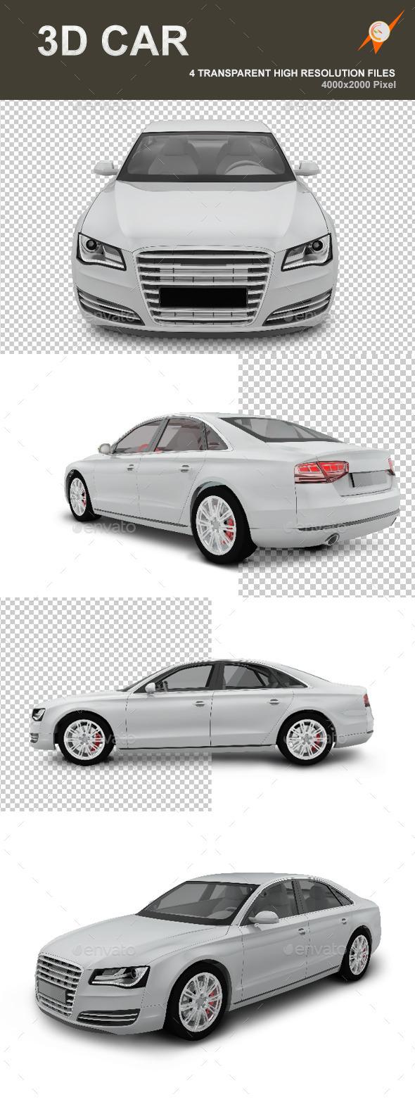 3D Car - Objects 3D Renders