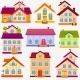 Houses Set - GraphicRiver Item for Sale