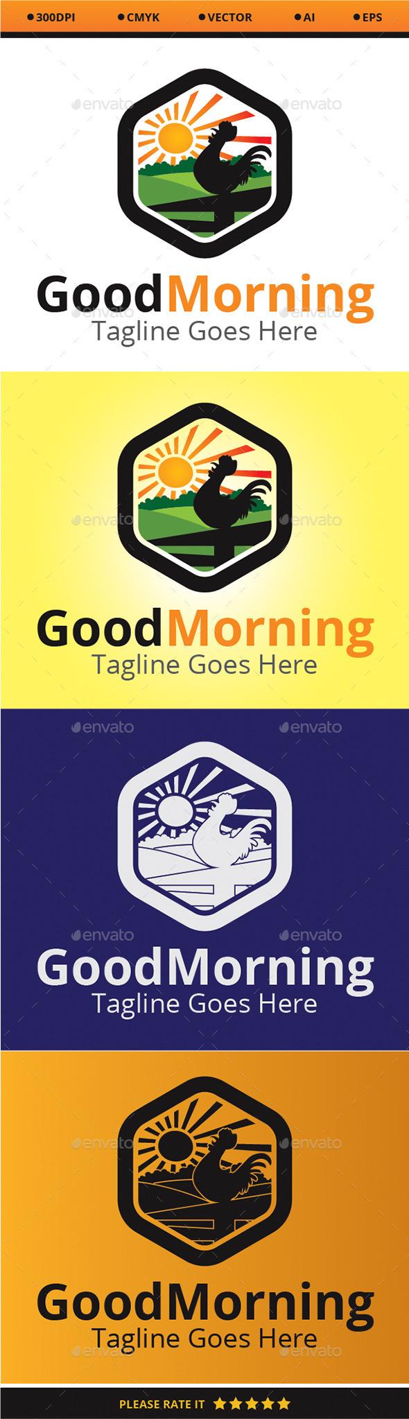 Good Morning - Logo Templates