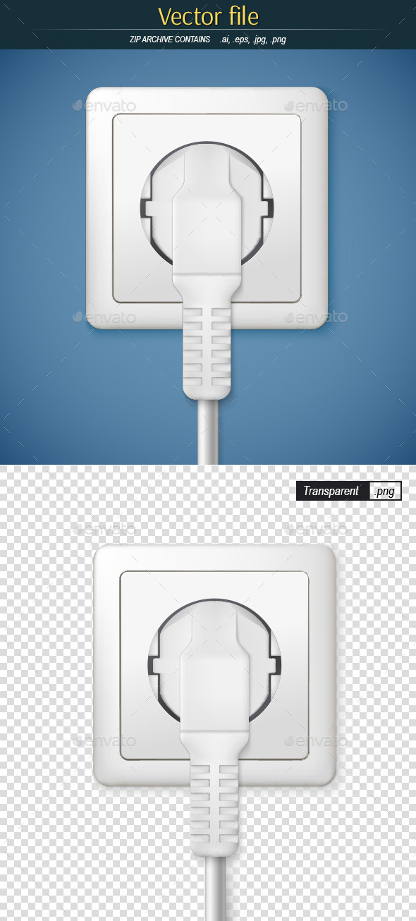 Socket with Plug - Technology Conceptual