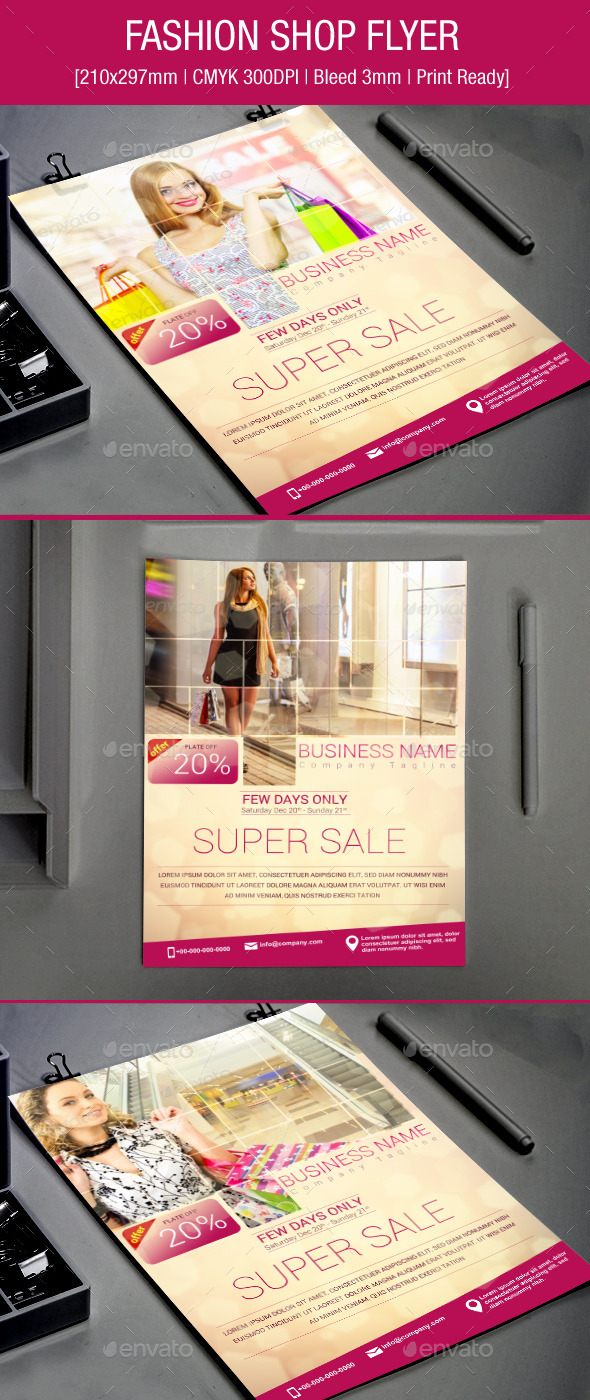 Fashion Shop Flyer - Events Flyers