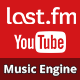 LastFM - Music Engine (incl. YouTube links)