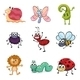 Colorful Creatures - GraphicRiver Item for Sale