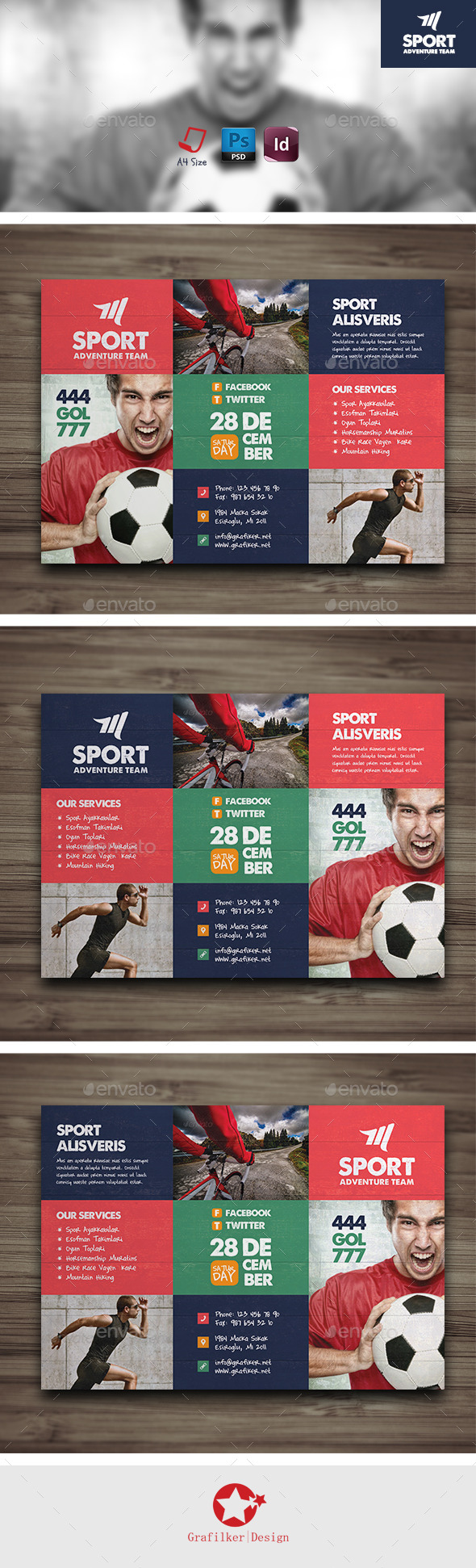 Sport Flyer Templates - Corporate Flyers