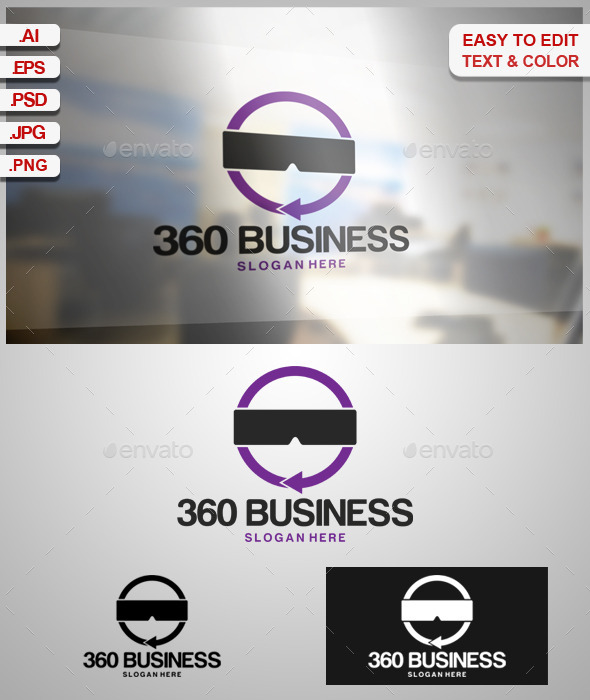360 Business - Symbols Logo Templates