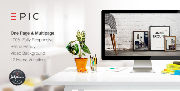EPIC - Responsive Multipurpose Template - Portfolio Creative