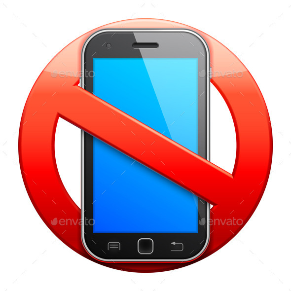 No Cell Phone Sign - Communications Technology