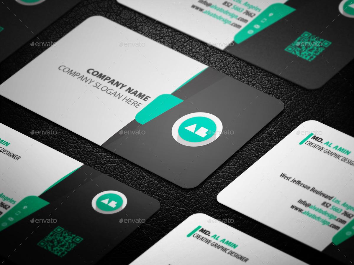 Simple Creative Business Card by alvato | GraphicRiver