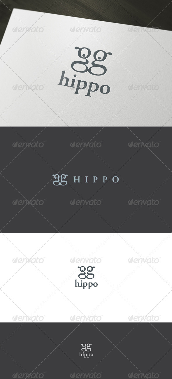 Hippo Logo - Letters Logo Templates