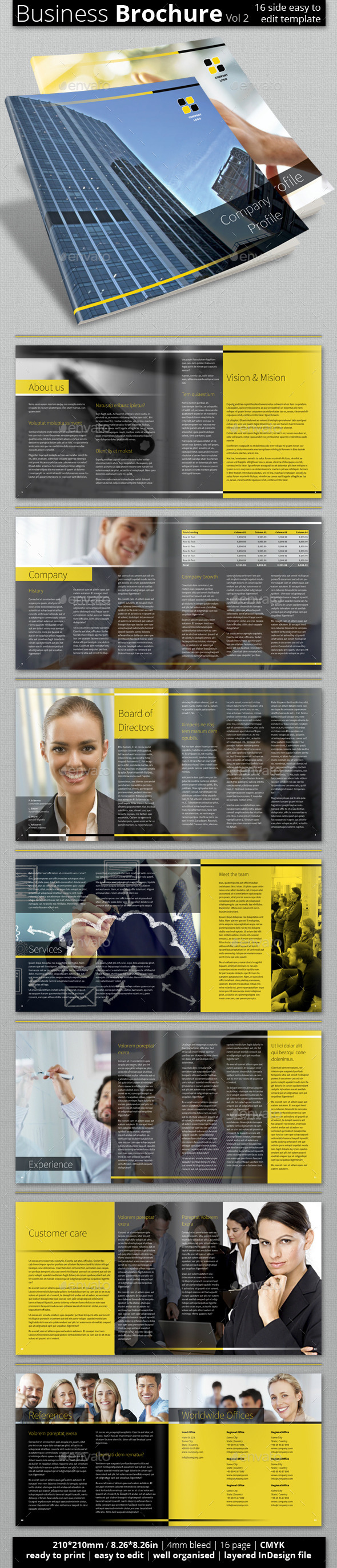Multipurpose Business Brochure (Vol 2.) - Corporate Brochures