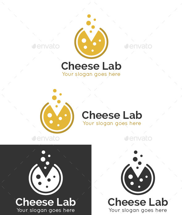 Cheese Lab Logo Template - Food Logo Templates