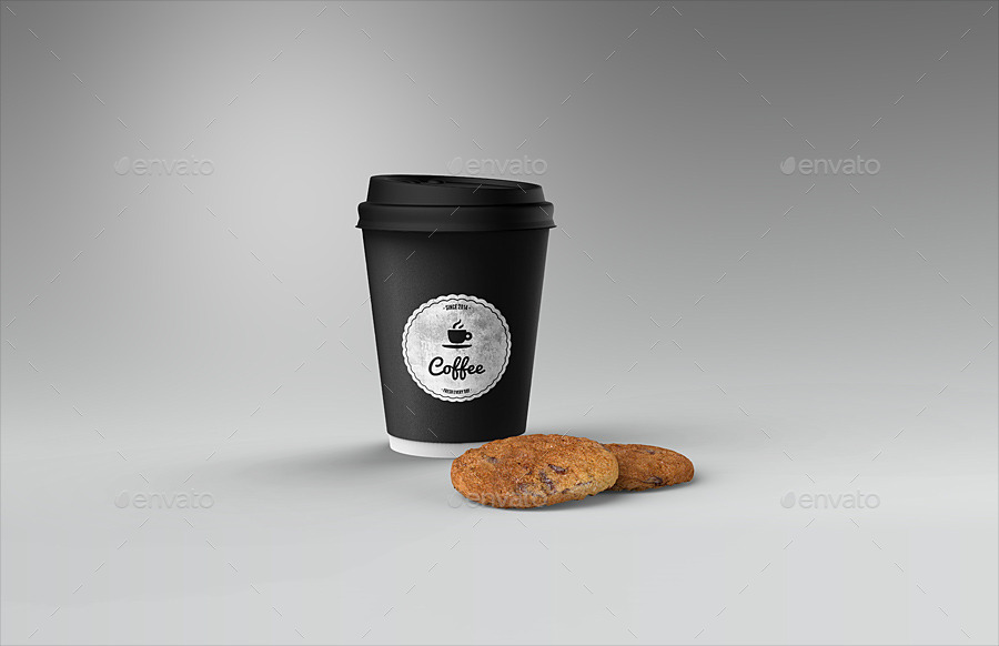 cafe branding identity coffee cup mockup by ayashi
