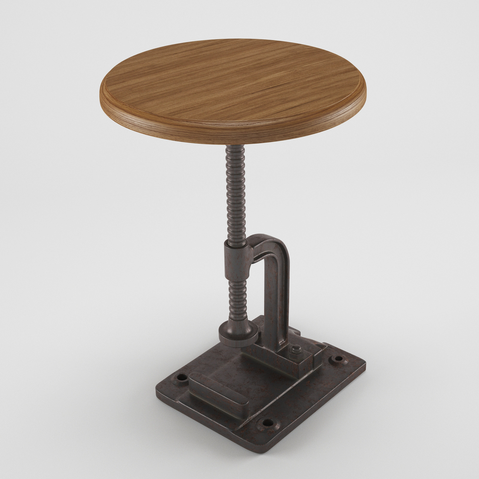 Industrial Stool Chair by shabani