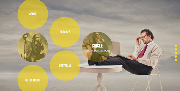 Circle - Creative Muse Template