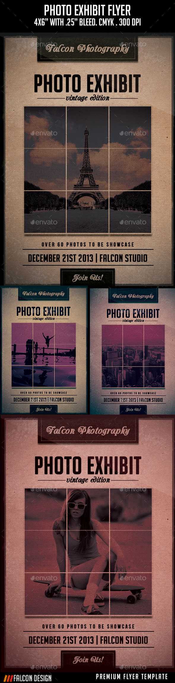 Photo Exhibit Flyer - Events Flyers