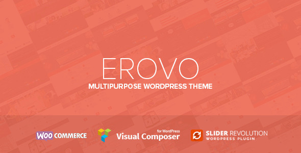Erovo – Responsive Multipurpose WordPress Theme