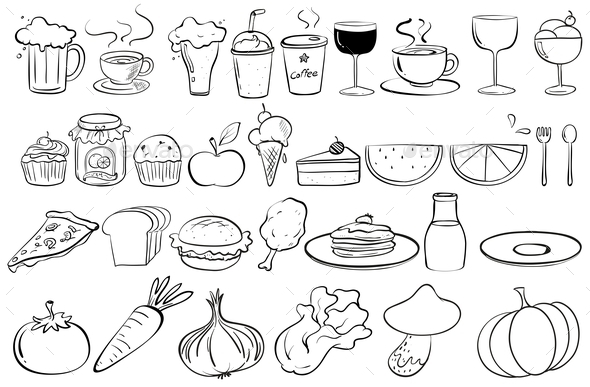 Food Collection - Food Objects