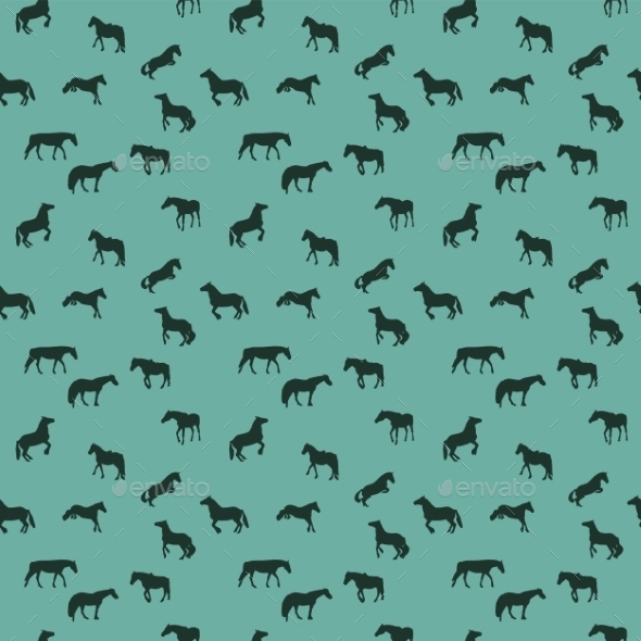 Horse Pattern - Animals Characters