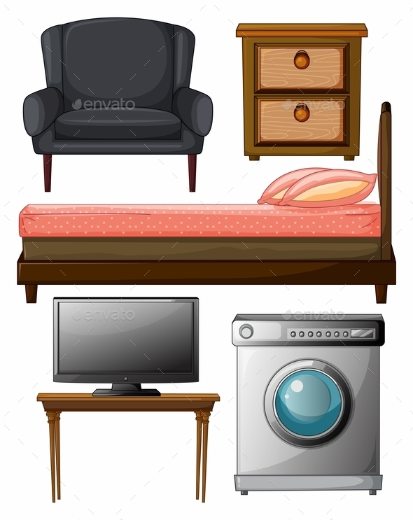 Useful Furniture - Man-made Objects Objects