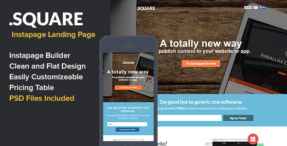Dotsquare Instapage Landing Page - Instapage Marketing