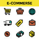 E-Commerce Icons Set - GraphicRiver Item for Sale