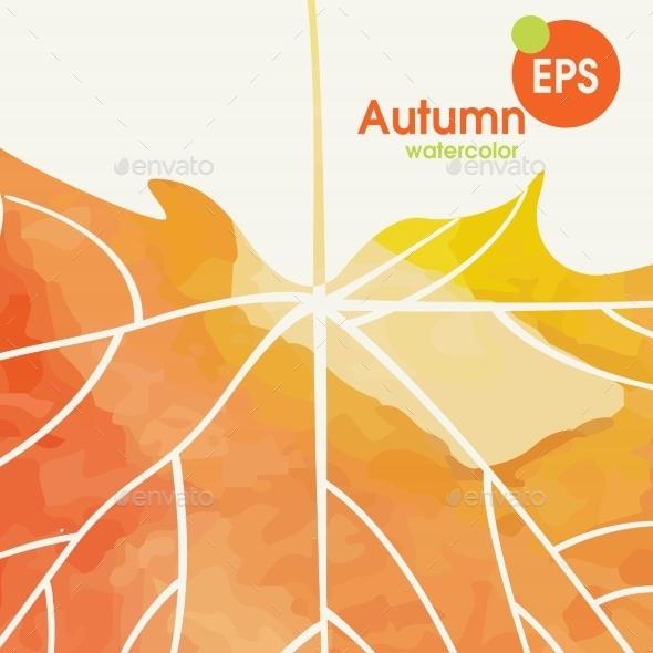 Simple Autumn Background - Seasons Nature