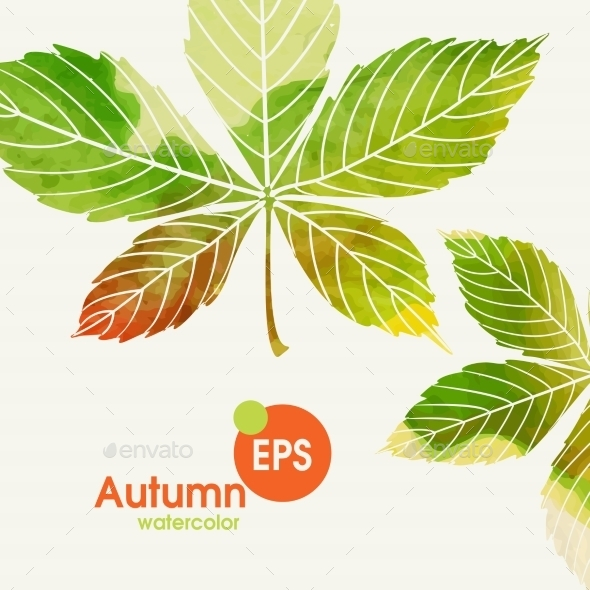 Autumn Background With Leaves - Seasons Nature