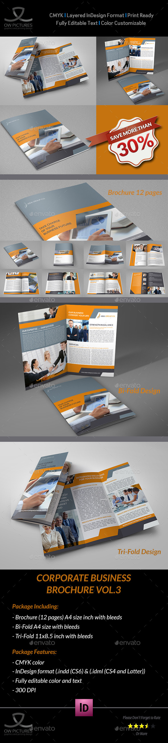 Company Brochure Bundle Vol.3 - Corporate Brochures