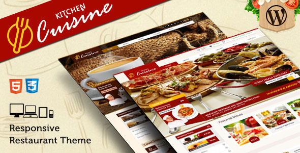 Kitchen Cuisine – Restaurants & Café WP Theme