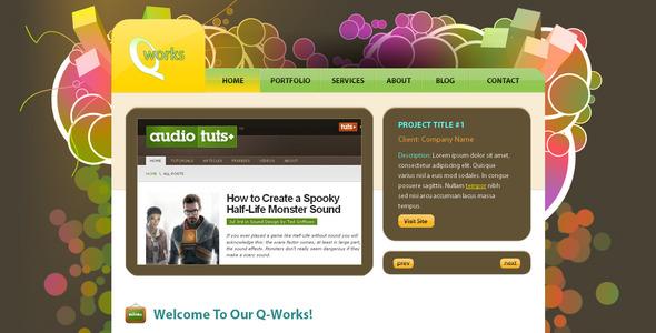 Q-Works - Portfolio Creative