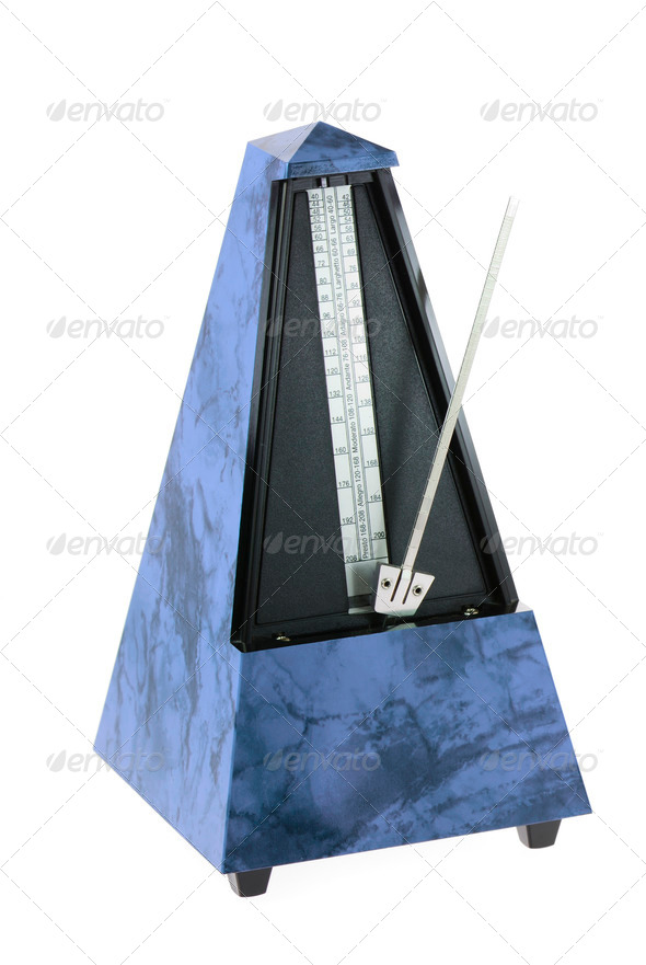 Musical Metronome - Stock Photo - Images