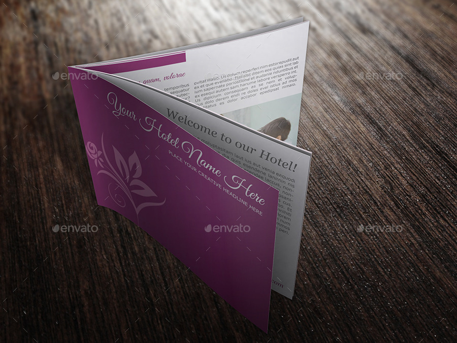 Hotel Catalog Template 03