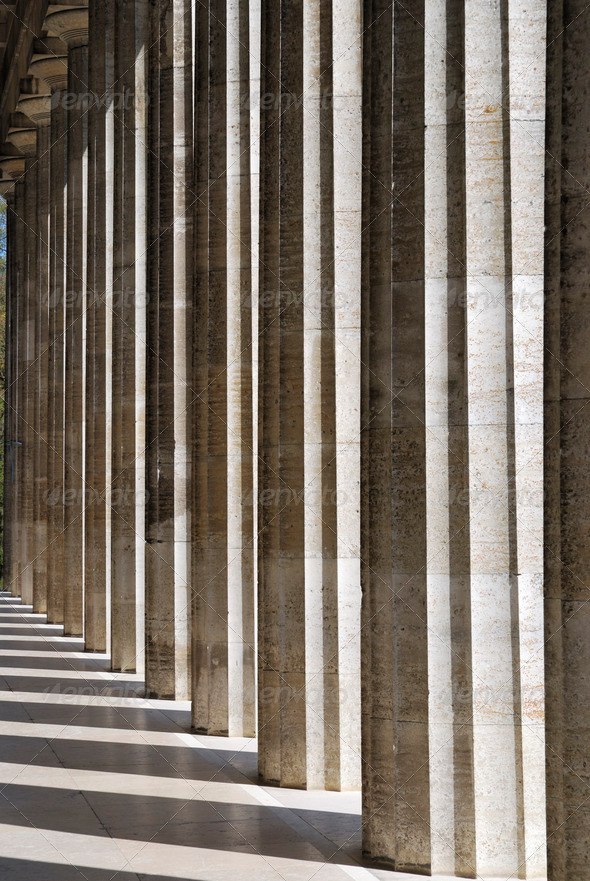 Columns - Stock Photo - Images