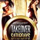 Take Over Saturdays or NYE Flyer Template - GraphicRiver Item for Sale