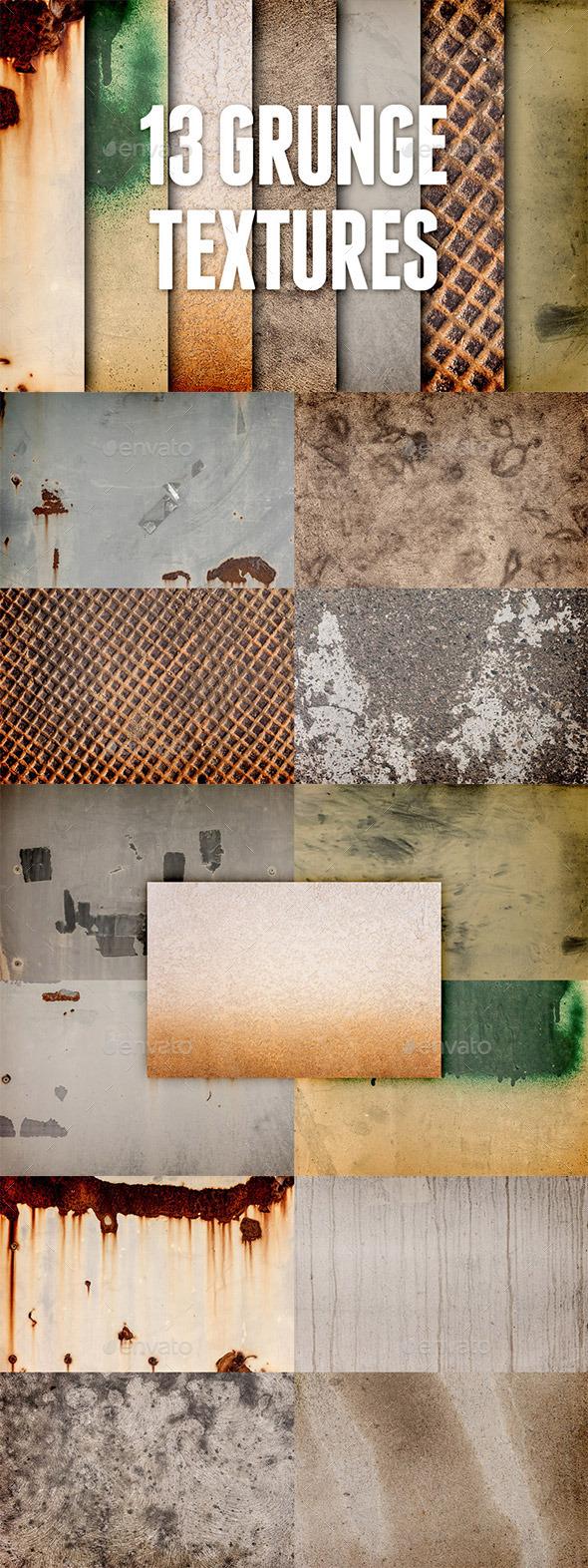 Grunge Textures Pack 1 - Industrial / Grunge Textures