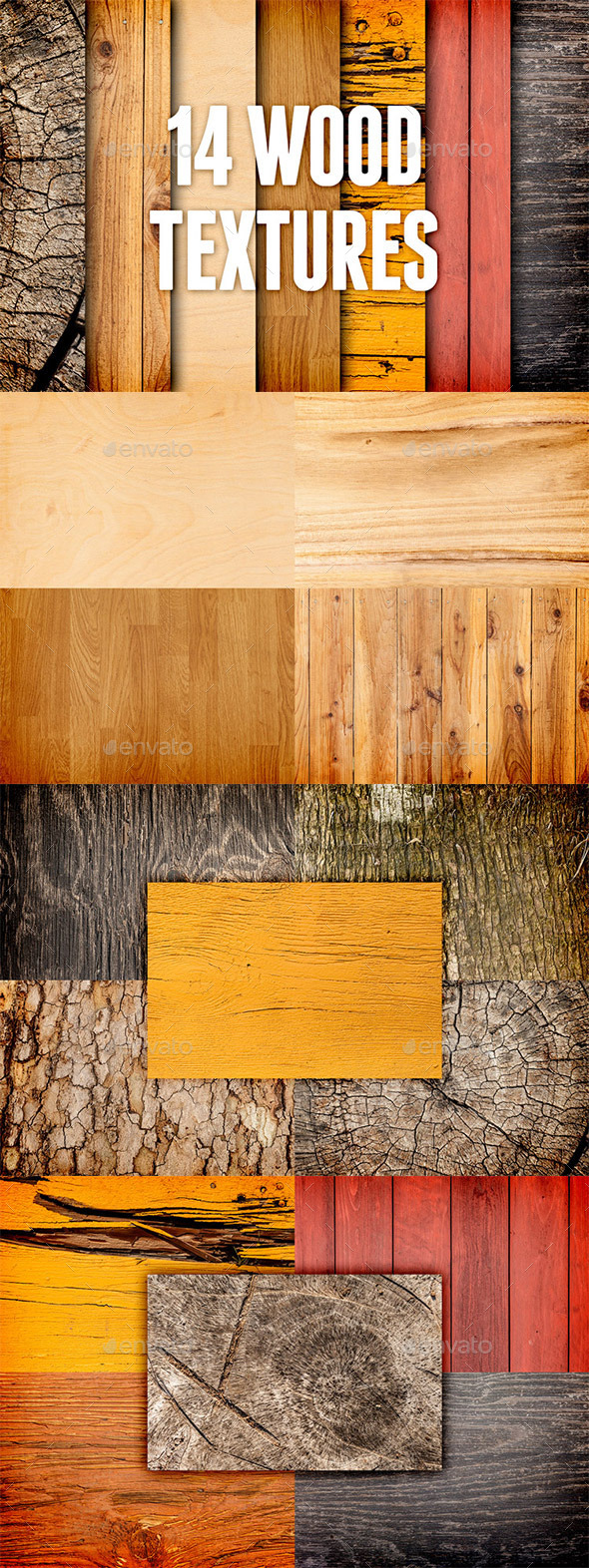 Wood Textures Pack 3 - Wood Textures