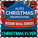 Sales and Services Christmas Promotions Flyer - GraphicRiver Item for Sale