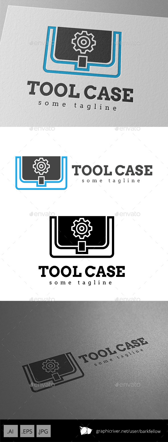 Tool Case Gear Logo - Symbols Logo Templates