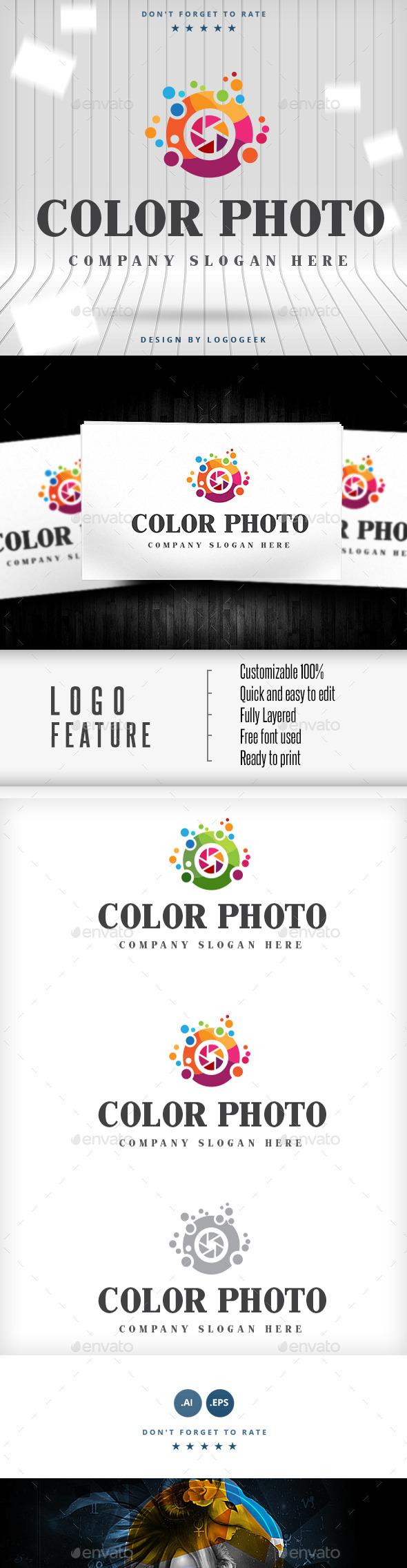 Color Photo Logo - Logo Templates