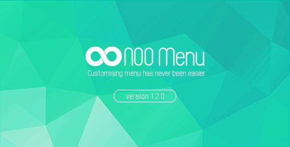 NOO Menu - WordPress Mega Menu Plugin - CodeCanyon Item for Sale