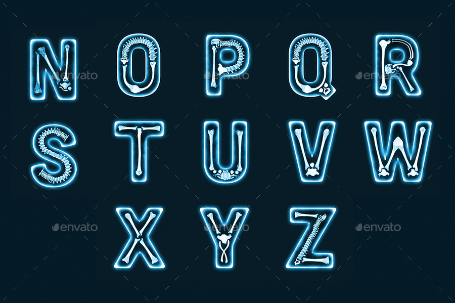 The X Ray Font By Luuqasdesign Graphicriver